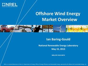Primary view of object titled 'Offshore Wind Energy Market Overview (Presentation)'.