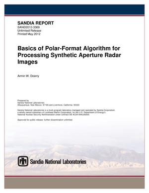 Primary view of object titled 'Basics of Polar-Format algorithm for processing Synthetic Aperture Radar images.'.