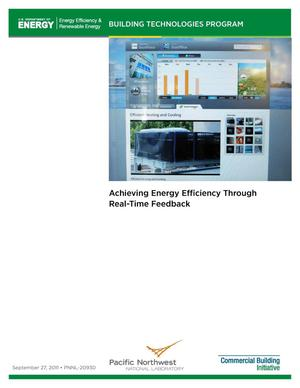 Primary view of object titled 'Achieving Energy Efficiency Through Real-Time Feedback'.
