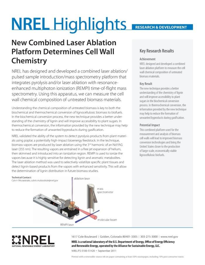 laser ablation technique