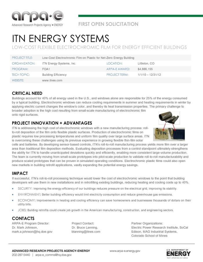 Low-Cost Flexible Electrochromic Film for Energy Efficient