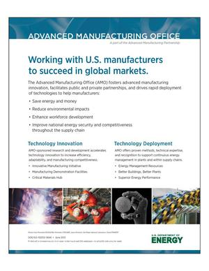 Primary view of object titled 'Working with U.S. Manufacturers to Succeed in Global Markets (Poster)'.