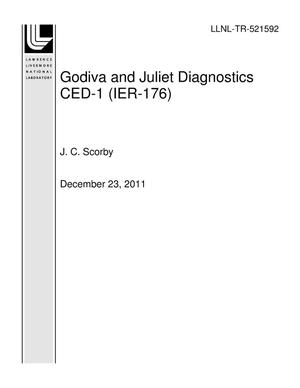Primary view of object titled 'Godiva and Juliet Diagnostics CED-1 (IER-176)'.