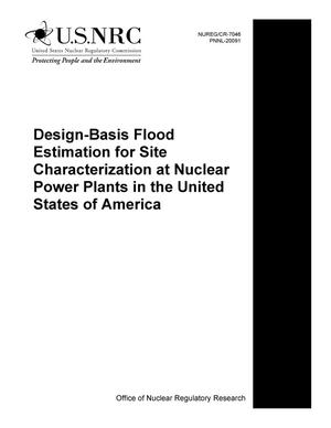 Primary view of object titled 'Design-Basis Flood Estimation for Site Characterization at Nuclear Power Plants in the United States of America'.