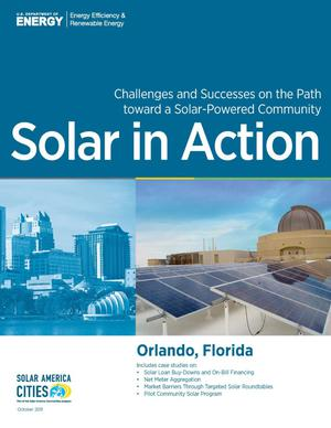 Primary view of object titled 'Orlando, Florida: Solar in Action (Brochure)'.