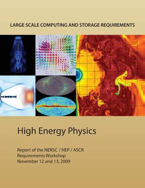 Primary view of object titled 'Large Scale Computing and Storage Requirements for High Energy Physics'.