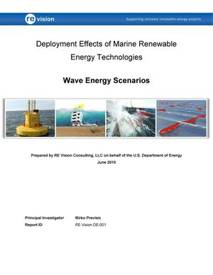 Primary view of object titled 'Deployment Effects of Marine Renewable Energy Technologies: Wave Energy Scenarios'.