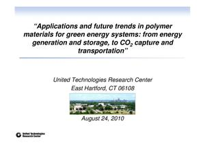 "Primary view of object titled '""Applications and future trends in polymer materials for green energy systems: from energy generation and storage, to CO2 capture and transportaion""'."
