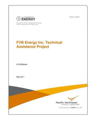 Primary view of object titled 'FVB Energy Inc. Technical Assistance Project'.