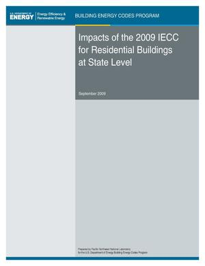 Primary view of object titled 'Impacts of the 2009 IECC for Residential Buildings at State Level'.
