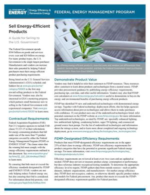 Primary view of object titled 'Sell Energy-Efficient Products (Fact Sheet)'.