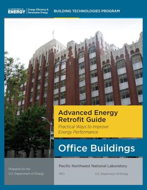 Primary view of object titled 'Advanced Energy Retrofit Guide Office Buildings'.