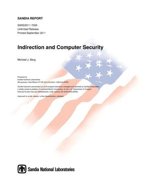 Primary view of object titled 'Indirection and computer security.'.