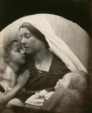 Primary view of object titled 'Madonna with Children'.