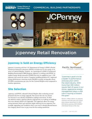 Primary view of object titled 'JC Penney Retail Renovation, June 2011'.