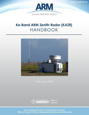 Primary view of object titled 'Ka-Band ARM Zenith Radar (KAZR) Instrument Handbook'.
