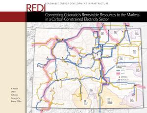 Primary view of object titled 'Connecting Colorado's Renewable Resources to the Markets in a Cabon-Constrained Electricity Sector'.