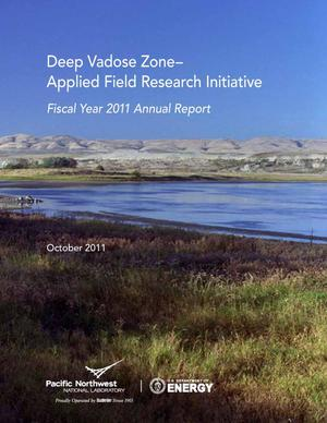 Primary view of object titled 'Deep Vadose Zone-Applied Field Research Initiative Fiscal Year 2011 Annual Report'.