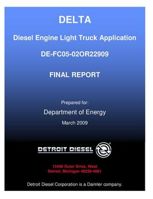 Primary view of object titled 'Diesel Engine Light Truck Application'.