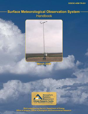 Primary view of object titled 'Surface Meteorological Observation System (SMOS) Handbook'.