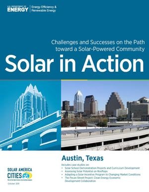 Primary view of object titled 'Austin, Texas: Solar in Action [Brochure]'.
