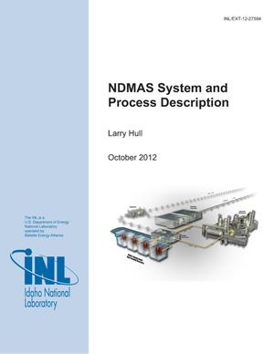 Primary view of object titled 'NDMAS System and Process Description'.