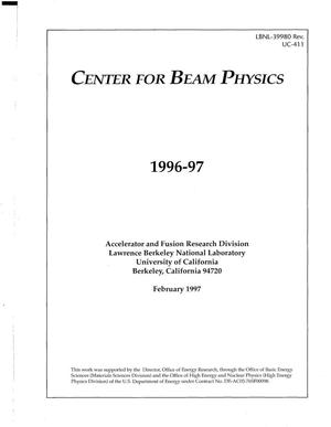 Primary view of object titled 'Center for Beam Physics'.