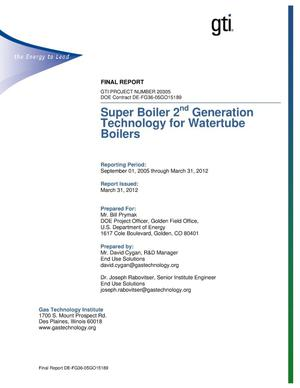 Primary view of object titled 'Super Boiler 2nd Generation Technology for Watertube Boilers'.