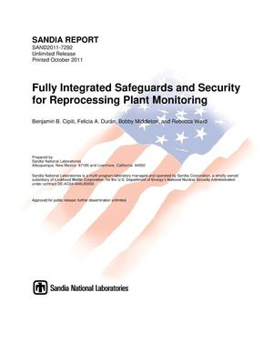 Primary view of object titled 'Fully integrated safeguards and security for reprocessing plant monitoring.'.