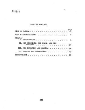 types of sociometric test