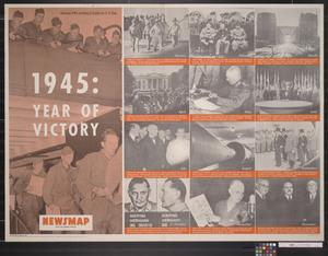 Newsmap for the Armed Forces : 1945: Year of Victory