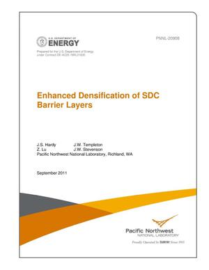 Primary view of object titled 'Enhanced Densification of SDC Barrier Layers'.
