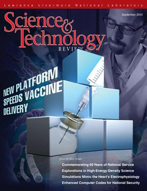 Primary view of object titled 'Science and Technology Review September 2012'.