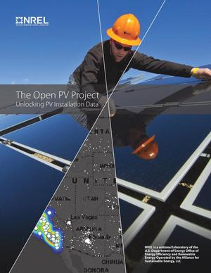 Primary view of object titled 'Open PV Project: Unlocking PV Installation Data (Brochure)'.