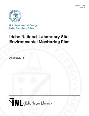 Primary view of object titled 'Idaho National Laboratory Site Environmental Monitoring Plan'.