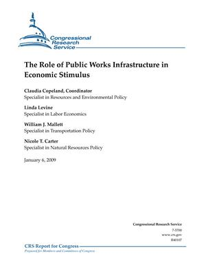 The Role of Public Works Infrastructure in Economic Stimulus