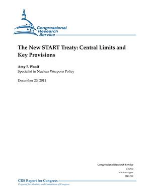 The New START Treaty: Central Limits and Key Provisions