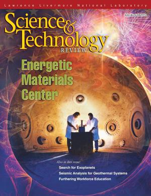 Primary view of object titled 'Science and Technology Review, July/August 2012'.