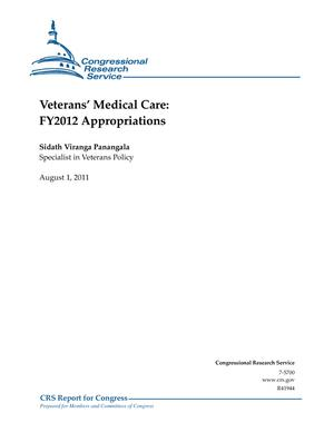 Veterans' Medical Care: FY2012 Appropriations
