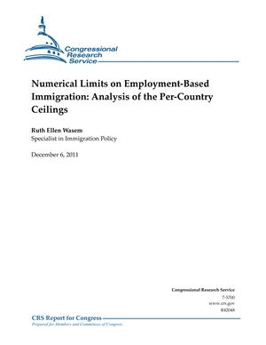 Numerical Limits on Employment-Based Immigration: Analysis of the Per-Country Ceilings
