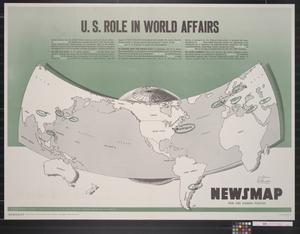 Primary view of object titled 'Newsmap for the Armed Forces : U.S. role in world affairs'.