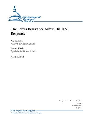 The Lord's Resistance Army: The U.S. Response