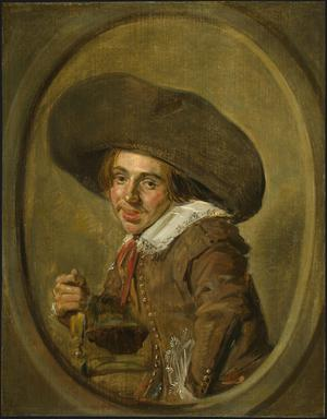 Primary view of object titled 'A Young Man in a Large Hat'.