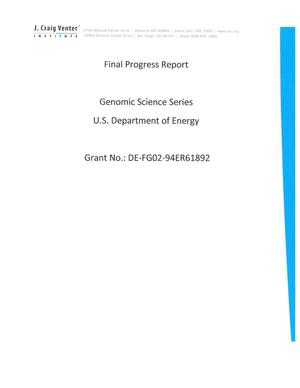 Primary view of object titled 'Genomic Science Series'.