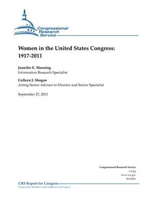 Women in the United States Congress: 1917-2011