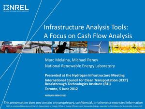 Primary view of object titled 'Infrastructure Analysis Tools: A Focus on Cash Flow Analysis (Presentation)'.