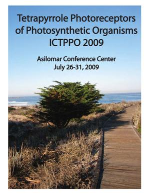 Primary view of object titled '9th International Conference on Tetrapyrrole Photoreceptors of Photosynthetic Organisms (ICTPPO 2009): Meeting Proceedings'.