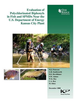Primary view of object titled 'Evaluation of Polychlorinated Biphenyls in Fish and SPMDs Near the U.S. Department of Energy's Kansas City Plant'.
