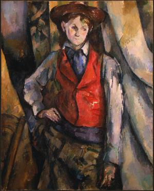 Primary view of object titled 'Boy in a Red Waistcoat'.