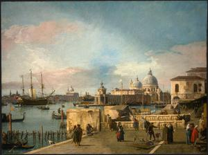 Primary view of Entrance to the Grand Canal from the Molo, Venice